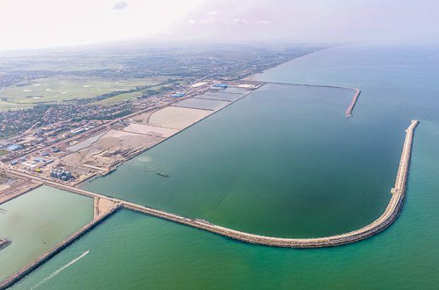 توافقنامه ساخت اسکله رو رو در مجتمع بندری کاسپین میان سازمان منطقه آزاد انزلی و قرارگاه سازندگی خاتمالانبیاء(ص)