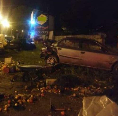 وقوع تصادف دلخراش در رودسر/راننده سمند دو دست فروش را زیر گرفت