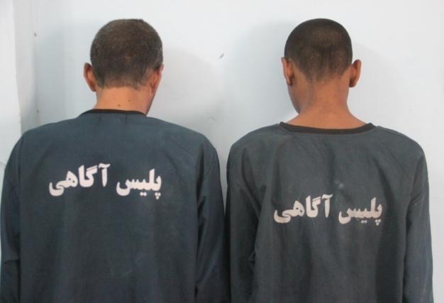 دستگیری دو عامل قمهکشی در رضوانشهر
