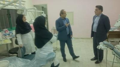 بازدید سرزده ارسلان سالاری از کلینیک ویژه تخصصی دندانپزشکی دانشگاه علوم پزشکی گیلان