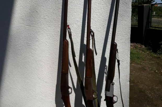 کشف و ضبط ۳۶ قبضه سلاح شکاری از شکارچیان متخلف