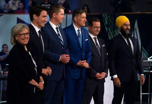 مناظره انتخاباتی نامزدهای نخستوزیری کانادا
