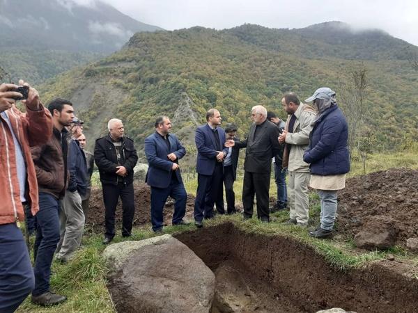 عرصه دقیق گورستانهای مریان بر اساس گمانهزنی باستانشناختی شناسایی میشود