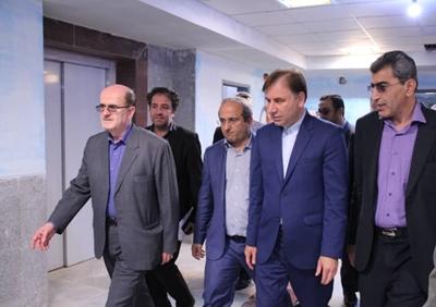 بازدید استاندار گیلان از بیمارستان جدیدالاحداث شهید حسین پور لنگرود