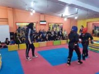 مسابقات قهرمانی لایت کنتاکت بانوان شهرستان رودبار