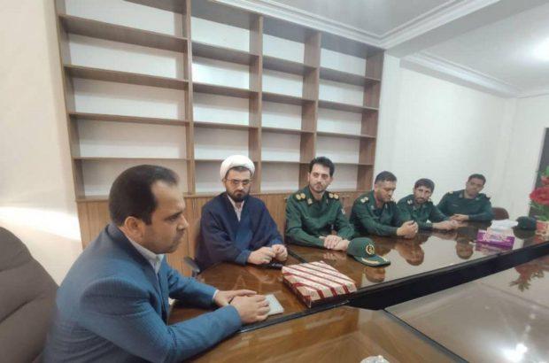دیدار مسئولان سپاه ماسال با معاون جدید فرماندار
