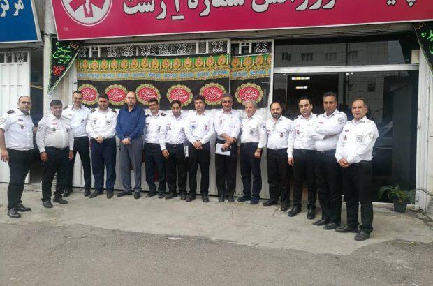 اعزام تکنسین های اورژانس ۱۱۵ گیلان به مرز مهران