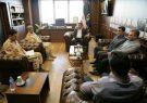 دیدار شهردار رشت با فرمانده مرزبانی استان گیلان