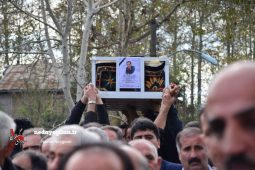 گزارش تصویری تشییع زنده یاد «علی میرزایی» نماینده اسبق شهرستان های فومن و شفت