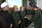 سرهنگ دولتی به عنوان فرمانده جدید لشکر عملیاتی قدس گیلان معارفه شد