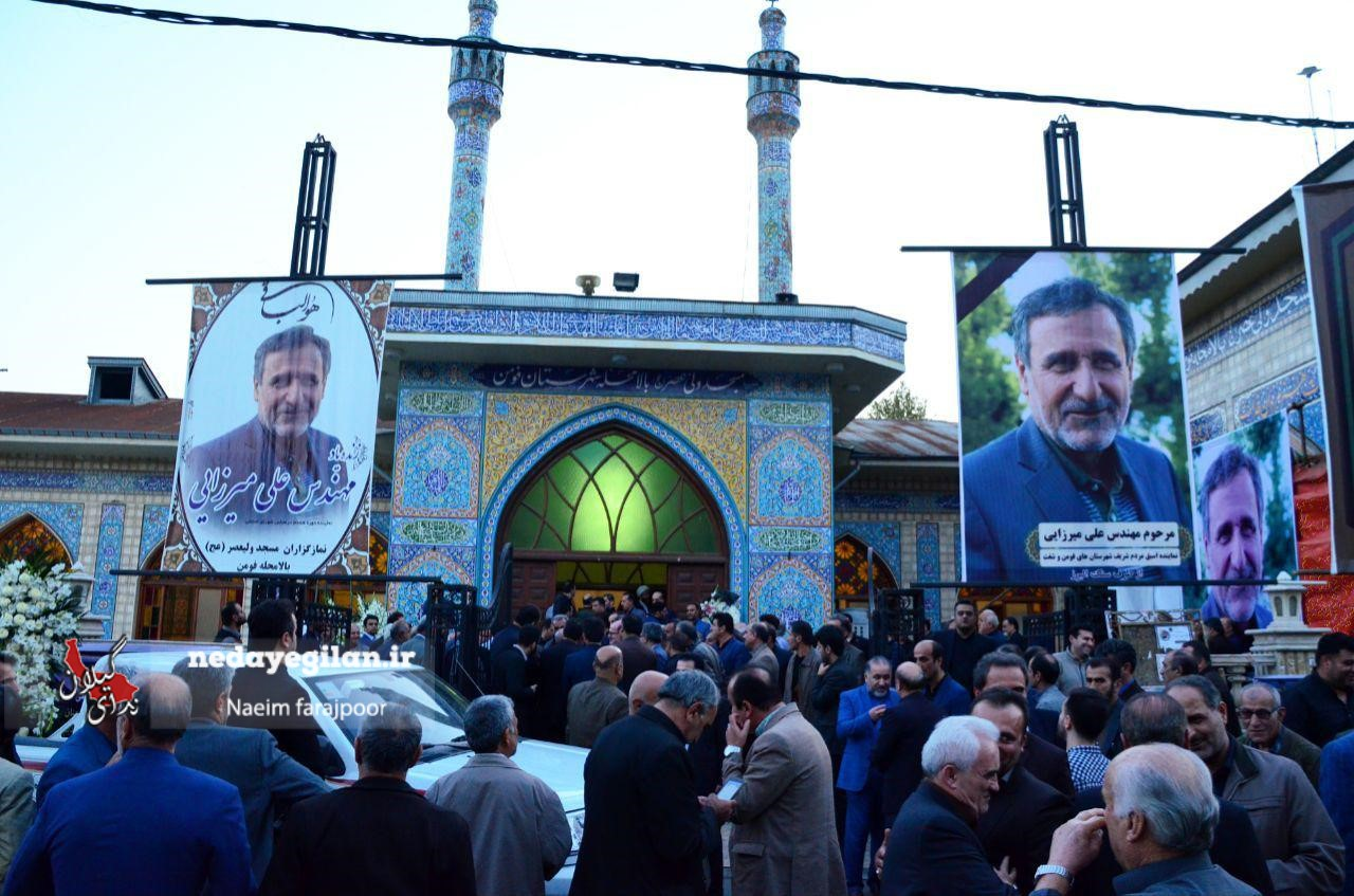 گزارش تصویری مراسم سومین روز درگذشت نماینده اسبق شهرستان های فومن و شفت