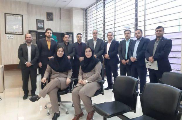 دیدار عضو هیات مدیره بانک توسعه تعاون از شعب استان گیلان
