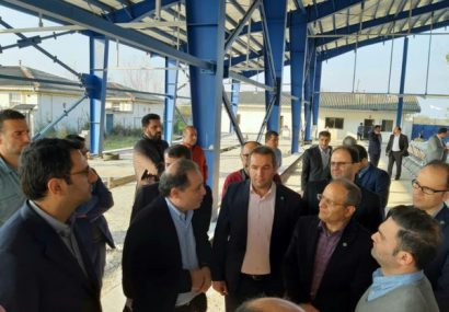 بازدید مدیرعامل بانک توسعه تعاون از طرحهای تعاونی گیلان