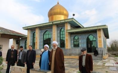 بازدید مدیرکل اوقاف گیلان از آستان سید سلیمان و سید حمزه صومعه سرا