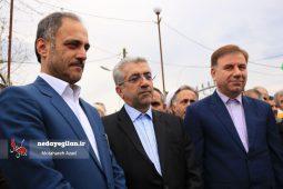 آغاز عملیات اجرایی پروژه های آبرسانی روستایی استان گیلان با حضور وزیر نیرو