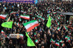 گزارش تصویری راهپیمایی بزرگداشت یوم الله 9 دی در رشت