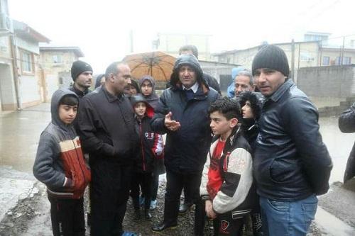 بسیج امکانات برای رفع آبگرفتی در شهر رشت
