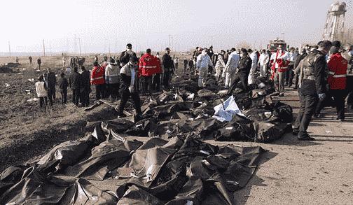 ۱۴۷ کشته هواپیمای سانحه دیده، ایرانی بودند