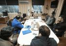 برگزاری جلسه بررسی مکانیزم شیوه های تصفیه شیرابه زباله در شرکت کود آلی گیلان