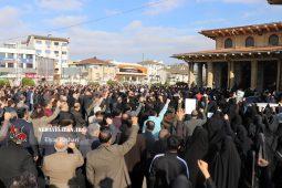 گزارش تصویری مراسم بزرگداشت سردار شهید قاسم سلیمانی در رشت