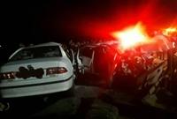 جزئیات تصادف مرگبار چند خودرو در فومن با ۹ کشته و زخمی