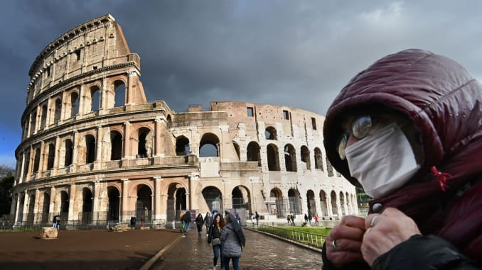 نسخت وزیر ایتالیا دستور قرنطینه کل کشور را صادر کرد