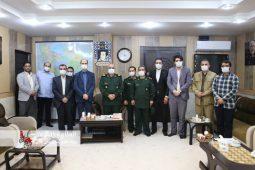 گزارش تصویری دیدار مدیران خبرگزاری های گیلان با فرمانده سپاه قدس استان