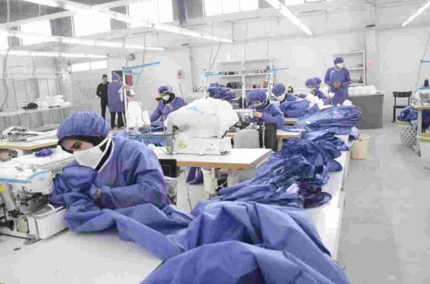 رتبه نخست منطقه آزاد انزلی در تولید ماسک و لباس بیمارستانی در بین مناطق آزاد کشور