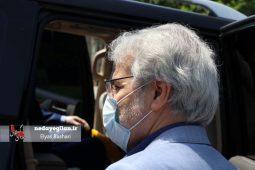 گزارش تصویری حضور دکتر نوبخت بر سر مزار مهندس قهرمانی،استاندار فقید گیلان