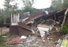 تخریب یک رستوران روستایی در فومن