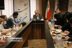 گزارش تصویری نشست خبری مدیرعامل شرکت آب و فاضلاب گیلان