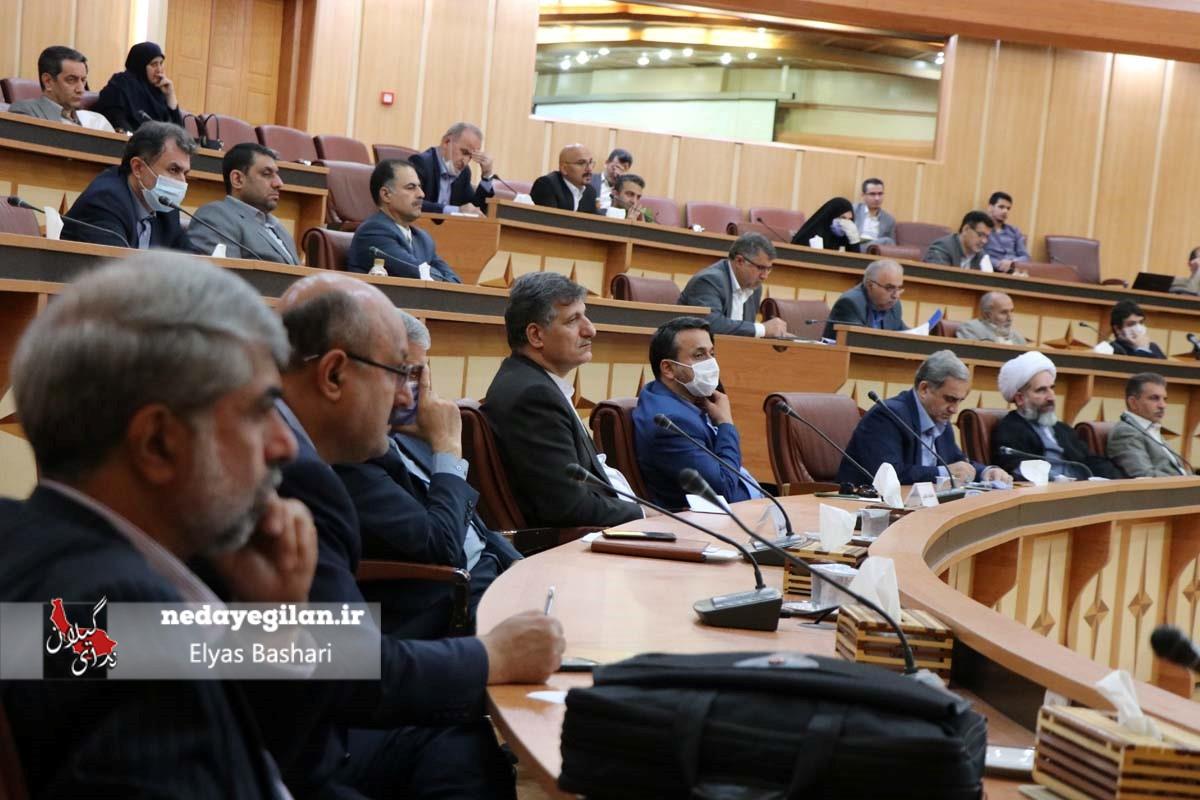 گزارش تصویری جلسه شورای برنامه ریزی و توسعه گیلان  با حضور نمایندگان استان