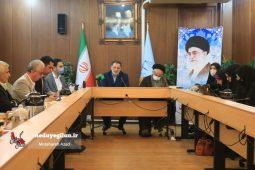 گزارش تصویری نشست خبری معاون اجتماعی و پیشگیری از وقوع جرم دادگستری استان گیلان