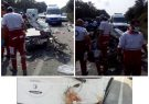 جزئیات تصادف مرگبار اتوبوس و پراید در جاده سراوان به فومن/هیچکس در پراید زنده نماند