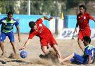 آغاز دو رفت لیگ برتر فوتبال ساحلی در منطقه آزاد انزلی