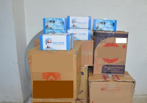 کشف ۵ هزار ماسک قاچاق در لاهیجان