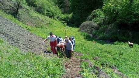 نجات مرد ۶۷ ساله فومنی در ارتفاعات منطقه ییلاقی گشت رودخان