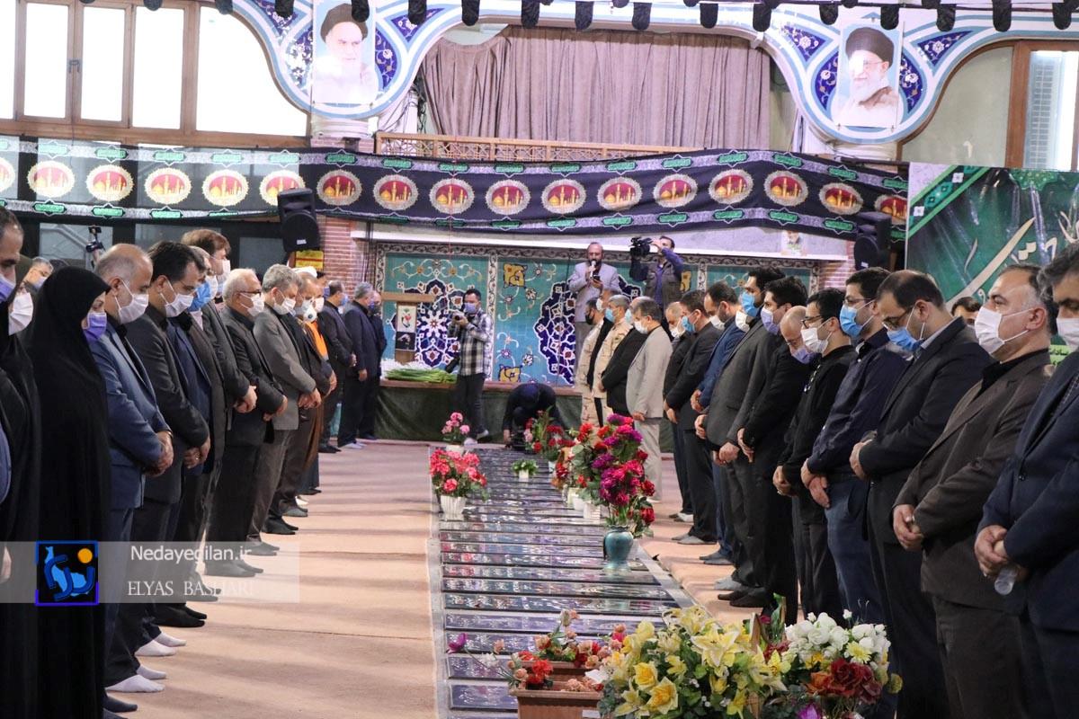 گزارش تصویری مراسم آغاز هفته دولت در گیلان
