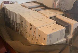 ماجرای کشف ۵ میلیارد ۶۰۰ میلیون تومان گوشی لاکچری قاچاق در رودبار