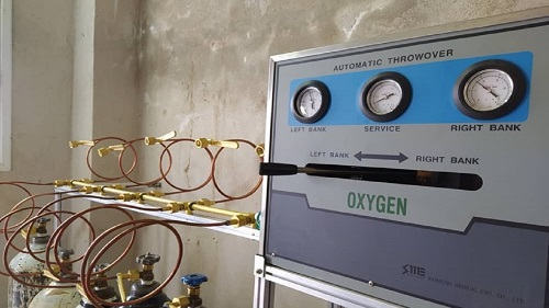 راه اندازی سیستم اکسیژن سانترال در بیمارستان نیکوکار املش