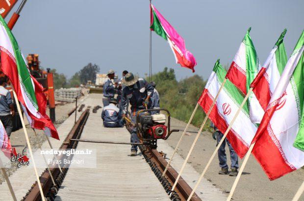 افتتاح راه آهن رشت-انزلی تا خرداد ماه ۱۴۰۰