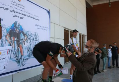 تیم دوچرخه سواری منطقه آزاد انزلی قهرمان دومین مرحله لیگ دوچرخه سواری کورسی استان شد