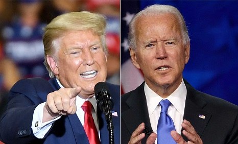 ترامپ: به ایرانی ها گفتم بعد از انتخابات توافق سختتر خواهد شد/بایدن:ایران به ساخت سلاح هسته ای نزدیک شده است