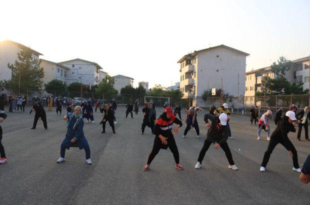 برگزاری طرح «آوای ورزش در همسایگی» در شهرک اندیشه رشت