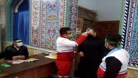خدمات جمعیت هلال احمر به عزاداران اربعین حسینی در ۱۶ شهرستان استان گیلان