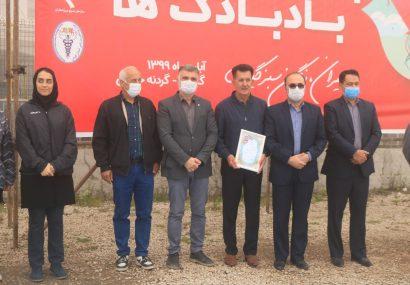 برگزاری جشنواره بزرگ بادبادکها در نگین سبز گیلان