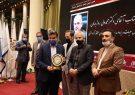 تندیس نشان عالی مدیر سال ایران به دکتر روزبهان ؛ مدیر عامل سازمان منطقه آزاد انزلی اهداء شد
