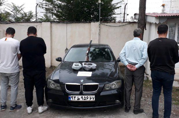 دستگیری باند لاکچری توزیع مواد مخدر در رضوانشهر!
