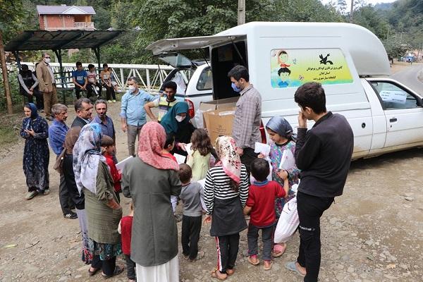 طرح امداد فرهنگی به روستاهای  سیلزده تالش رسید