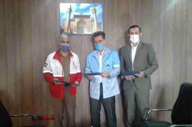 امضای تفاهمنامه چهار جانبه هلال احمر،میراث فرهنگی، مدیرت بحران و هیات کوهنوردی در گیلان